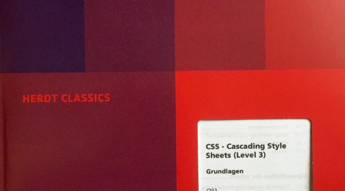 DIN-A4-großes Cover mit blau-rotem Farbverlauf