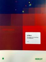 DIN-A4 großes Cover mit blau-rotem Farbverlauf